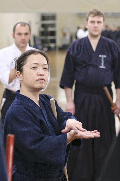сенсей Уеда Каёко
