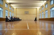 У нас в клубе была проведена тренировка сборной команды Москвы по кендо