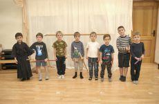 Мой опыт преподования кендо для малышей от 4 до 6 лет в Москве