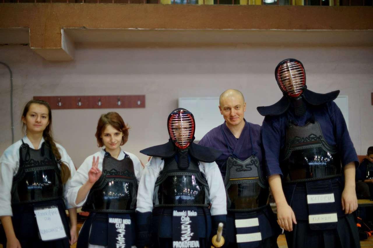 Мы приняли участие в чемпионате Воронежа по кендо.