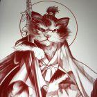 Японская сказка «Боевой клич кота Микэ»